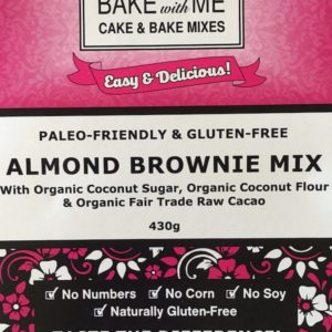 Label Almond Brownie Mix - Bake With Me copy