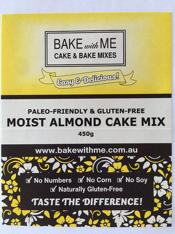 Label Almond Cake Mix - Bake With Me copy