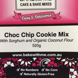 Label Choc Chip Cookie Cake Mix - Bake With Me copy