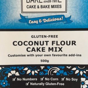 Label Coconut Cake Mix - Bake With Me copy