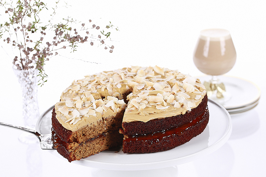 Moist Almond Cake 2 - Bake With Me
